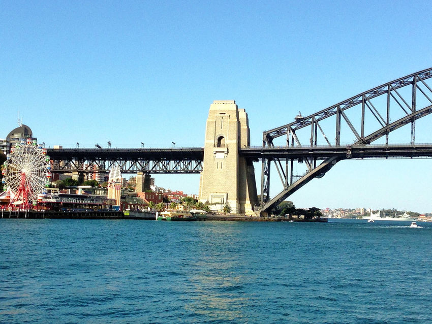 Sydney Sydney, Australia Sydney Harbour Bridge Sydney Harbour  Luna Park Beautiful Day Australia