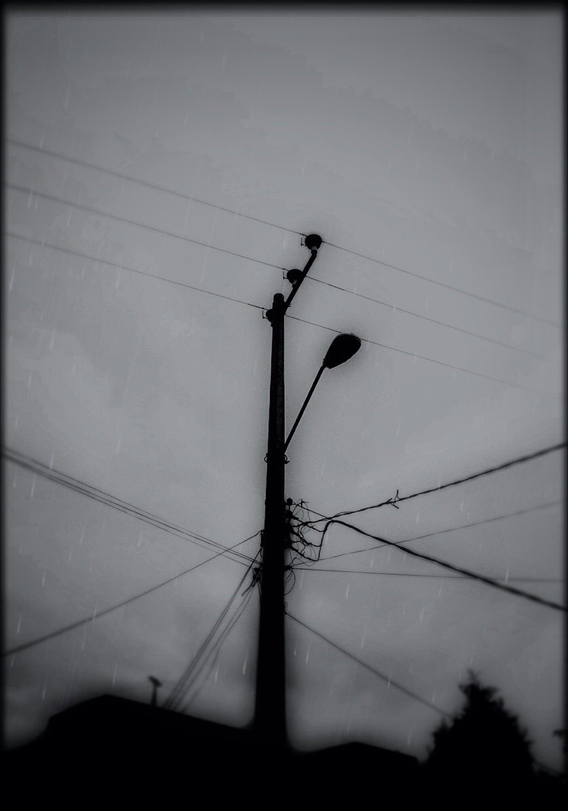 power line, electricity, power supply, electricity pylon, fuel and power generation, low angle view, cable, connection, technology, silhouette, power cable, sky, dusk, outdoors, no people, nature, telephone pole, tranquility, pole, cloud - sky