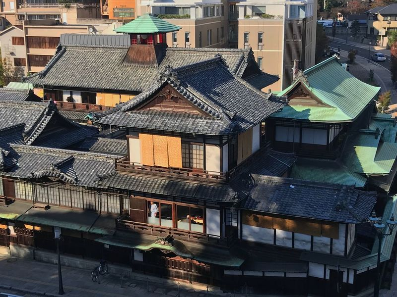 Introducing Culture Of Japan Which Must Be Left To The Future…… 未来に残す日本の文化 Japan 道後温泉本館 (dogo Onsen)