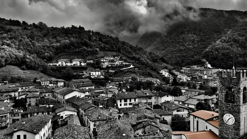 Roofs are roots. Roofs Bw Photography Bw Photo The Village Seize The Day Aerial View Village Sky Landscape Cloud - Sky Close-up Nebula