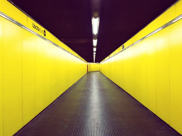 yellow Architecture subway Underpass ceiling light underground walkway Underground tunnel subway train subway station the way forward recessed Fluorescent Yellowish Walkway Empty Yellow Architecture Subway Underpass Ceiling Light  Underground Walkway Underground Tunnel Subway Train Subway Station The Way Forward Recessed Light Public Transportation Pathway Fluorescent Light Adventures In The City EyeEmNewHere