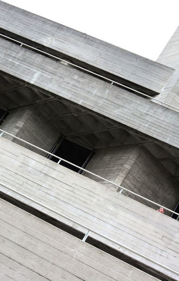 The Royal National Theatre Architecture Concrete London London Lifestyle LONDON❤ Minimalism One Person The Week On Eyem Urban Geometry Urban Landscape