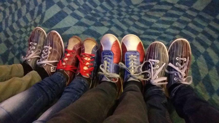 Shoe Personal Perspective Leisure Activity Bowling Bowling(: Bowling Shoes Bowlingnight Bowling Time Bowlingshoes Friends