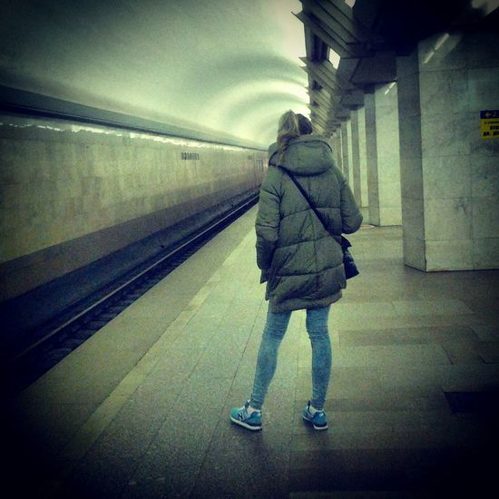 Perspective Subway Station Subway Portraits Youth Watching People Situations The Human Condition