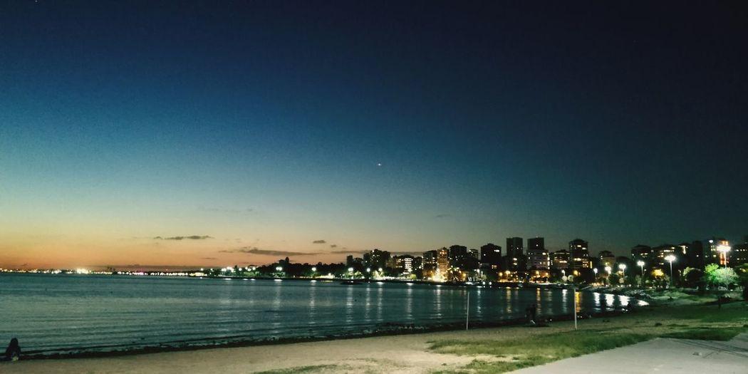 Bostancı Water Sea Beach City Tree Illuminated Sky EyeEmNewHere