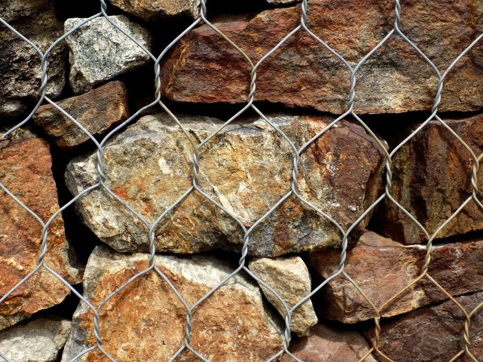 Stones Metallic Metal EyeEm Best Shots Taking Photos Taking Pictures EyeEm Selects Backgrounds Full Frame Pattern Stack Textured  Close-up Forestry Industry Metal Grate