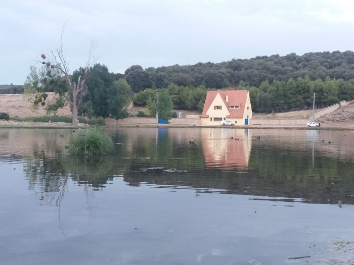 Ifrane Morocco Paint The Town Yellow Architecture Beauty In Nature Building Exterior Built Structure Day Hows Lac Lake Moroccotravel Moroco Nature No People Outdoors Reflection Scenics Sky Tranquil Scene Tranquility Tree Water Waterfront