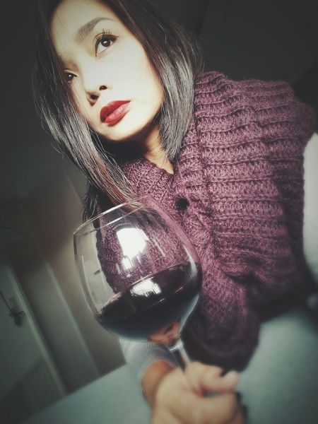 Cheers Enjoy Time Just Chilling Memory Taking Pictures Selfies ThatsMe Red Lips ❤