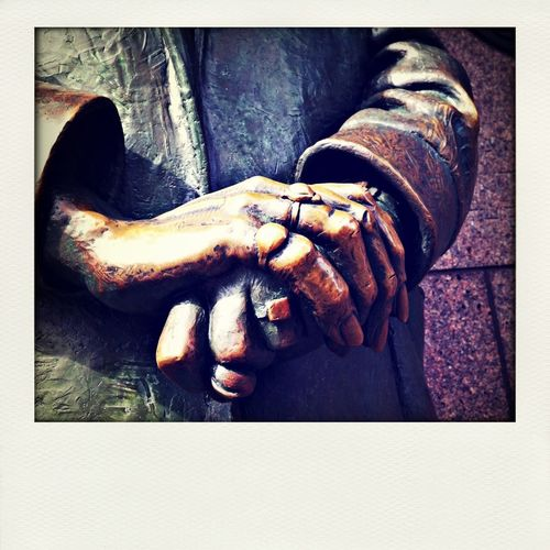 Hands of time. Hands that tell a story. Hands made of bronze. Architectural Elements Oldpicture Eyeem Statues The Life Of Statues