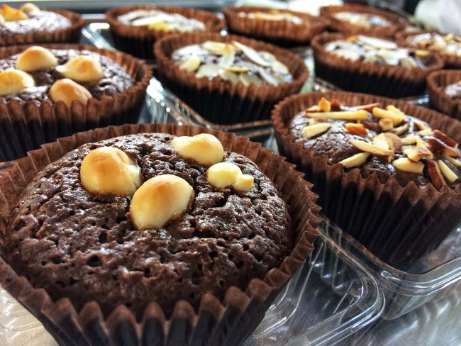 Brownie Sweet Food Food And Drink Food Sweet Dessert Indulgence Freshness Cake Baked Cupcake Chocolate Muffin Close-up Ready-to-eat