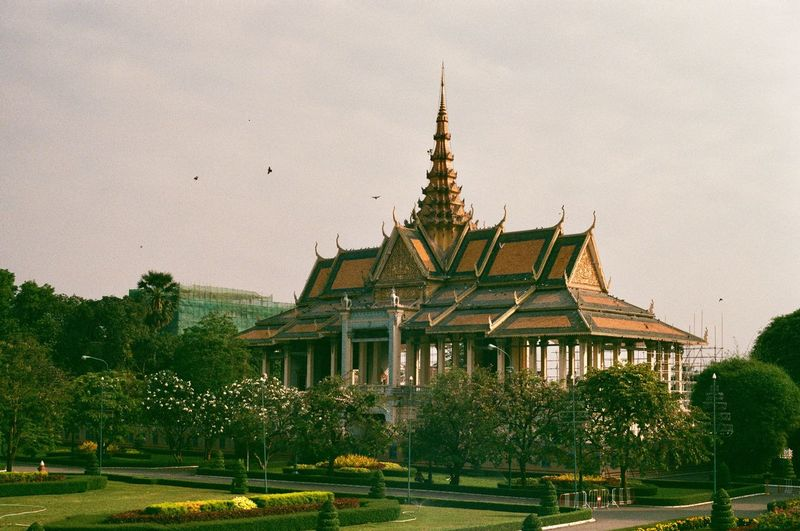 Ae-1 Cambodia Built Structure Architecture Building Exterior Tree Religion Belief Building