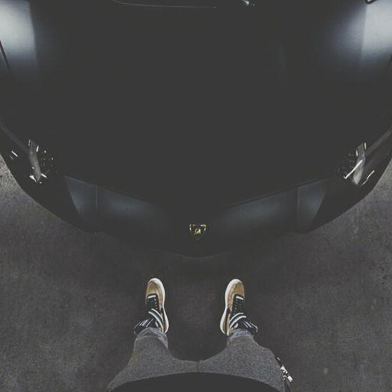 Car Lamborghini Parking Garage Darkking Likes Black