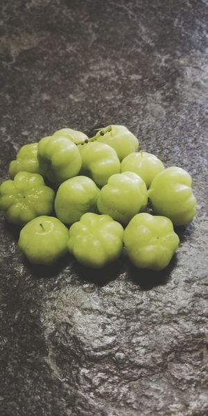 Gooseberries Pappu Veg Usiri AMLA Gooseberry Healthy Lifestyle Close-up Green Color Food And Drink Tropical Fruit