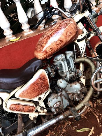 Goa Vacations Creative Art Bike Bikeaerography Aerography Ganesha India