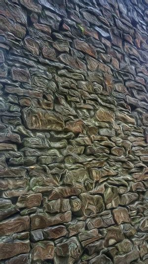 Stone walled Full Frame Backgrounds Textured  Pattern No People Day Nature Outdoors Close-up