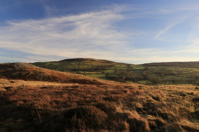 Garn Goch, Brecon Beacons Garn Goch Winter Cairns Bronze Age Ancient Monument Hill Hills Welsh Countryside Wales Brecon Beacons Landscape Nature Sky Beauty In Nature Tranquil Scene No People Tranquility Grass Scenics Mountain Outdoors Day