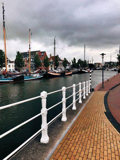 Grachten Dutch Way Of Life Dutch Harbor Harbor Town Water Sky Nautical Vessel Cloud - Sky Transportation Architecture Nature