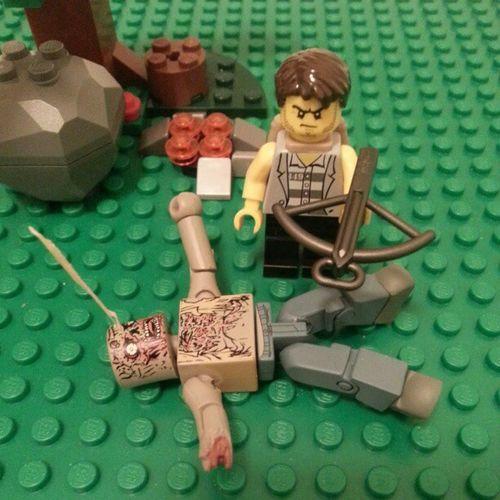 Daryl Dixon. Thewalkingdead Zombies  AMC LEGO legotoyscommunity toys 5daychallenge toycommunity