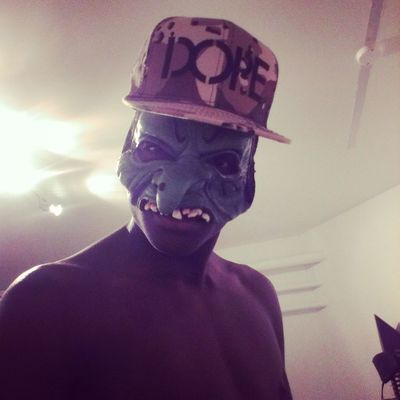scary greenface Black dope
