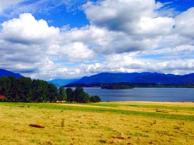 Panguipulli Chile Chile Panguipulli Lake South America Landscape Scenery Traveling Nature America Vacation