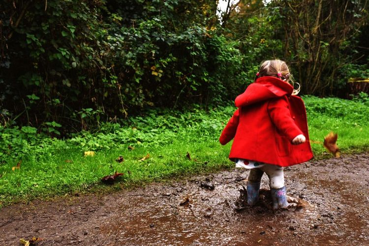 Muddy Puddles Mud Wellies  Autumn Puddle Children Outdoors Outdoor Photography Leaves Countryside