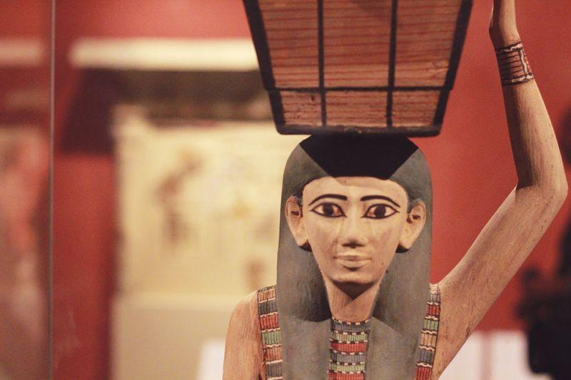 Figurine of pharaoh