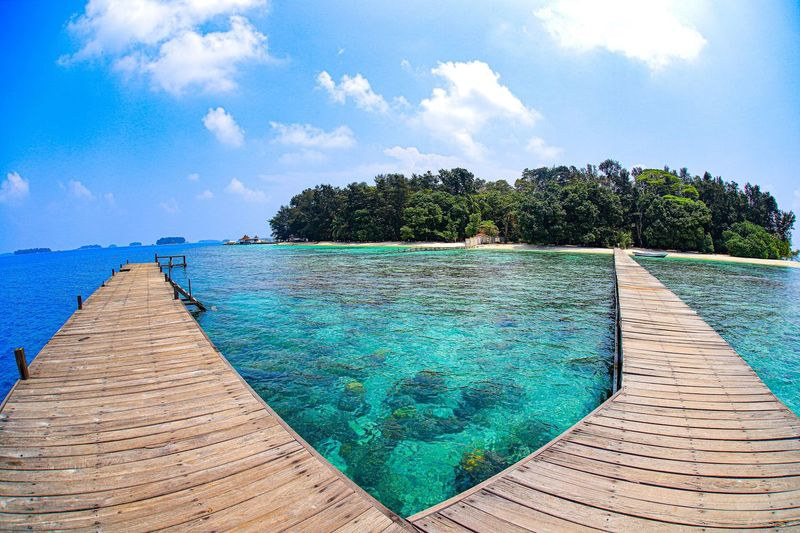 Sepa Island in