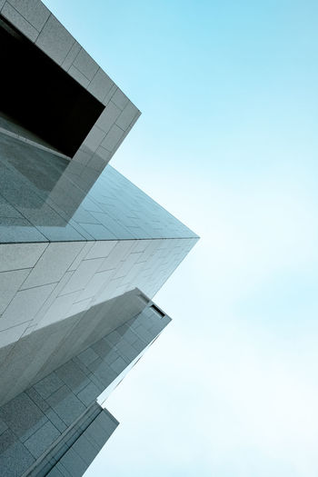 The Week on EyeEm Minimalism Minimal Minimalobsession Minimalist Architecture Minimalist Sky Architecture Built Structure No People Building Exterior Low Angle View Modern Day Clear Sky Building City Tall - High Outdoors Travel Copy Space Tower Travel Destinations Peaks Abstract Photography