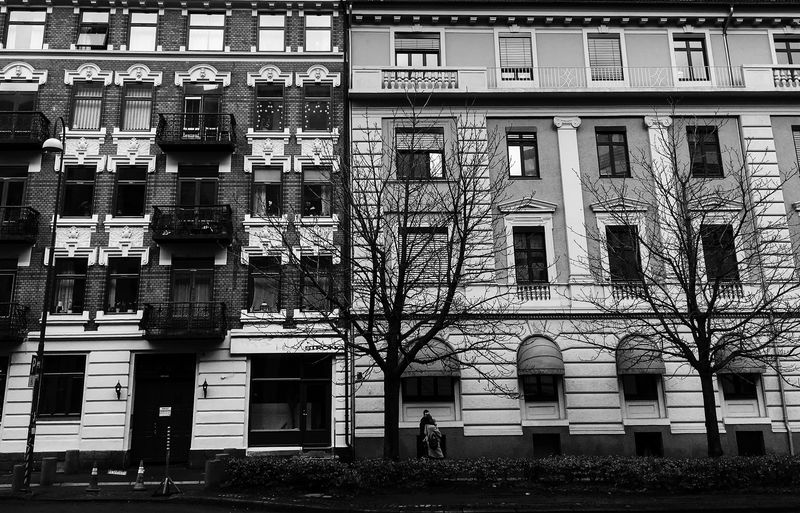 Black & White Blackandwhite Black And White Oslo Building Exterior Built Structure Architecture Building Window Day City Wall - Building Feature House