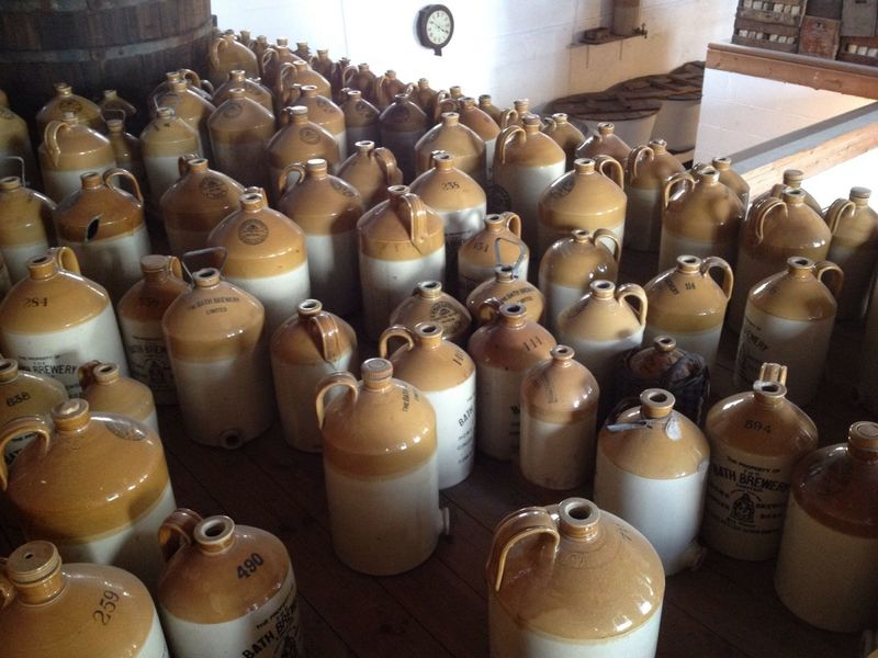 Tankards Earthenware Alcohol Bottles
