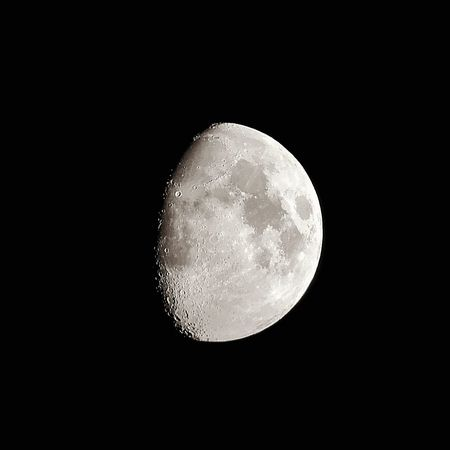 Moon Night Astronomy Planetary Moon Full Moon Moon Surface Beauty In Nature Nature Scenics Copy Space Half Moon No People Tranquility Space Exploration Close-up Crescent Outdoors Moonlight Space Clear Sky