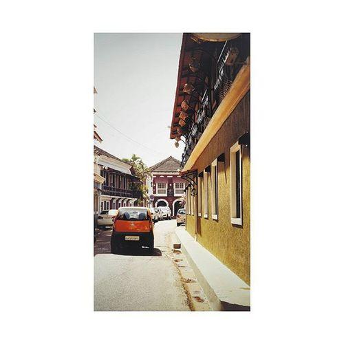 The Bohemian City 🏰 . . . . Goa Goadiaries Traveling Vscoinspiration Vscocam VSCO
