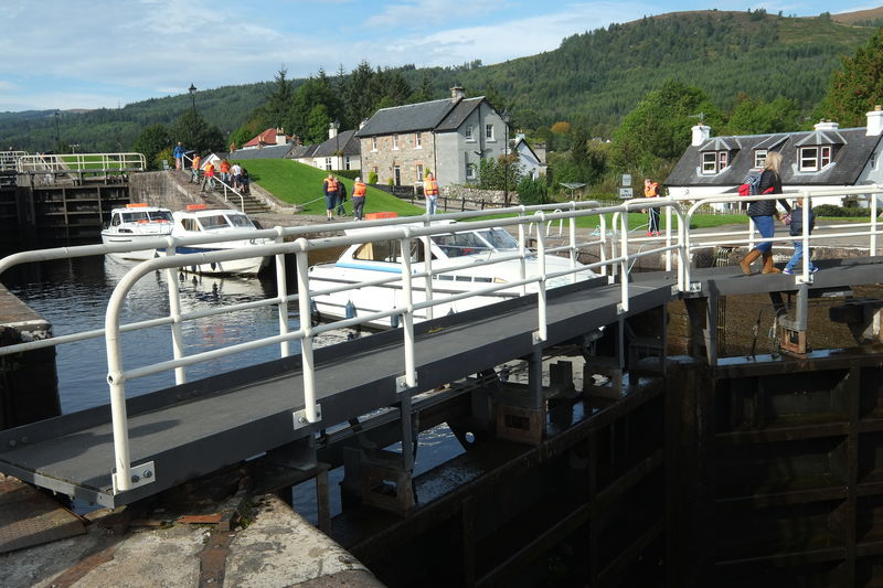 Caledonian Canal Day Fort Augustus Inverness-shire No People Outdoors Sky Water Water Reflections