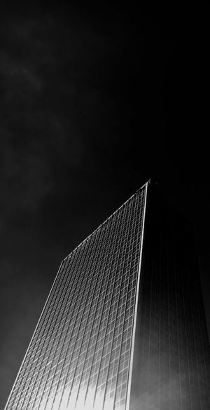 Low Angle View Built Structure Sky Architecture Building Exterior No People Nature Copy Space Tall - High Night Cloud - Sky Travel Destinations Office Building Exterior Outdoors Skyscraper City Modern Pattern