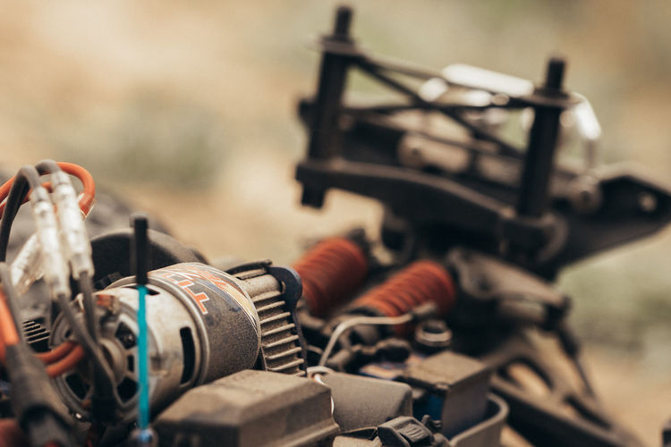 RC Techie / Power & Metal Series Machinery RC Steam Aiming Close-up Communication Day Equipment Focus On Foreground Machine Part Metal Mode Of Transportation Nature No People Old Outdoors Selective Focus Sport Still Life Technology Toy Weapon