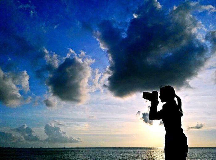Sky 喜 歡 今 天 就讓最廣闊的天映入眼簾