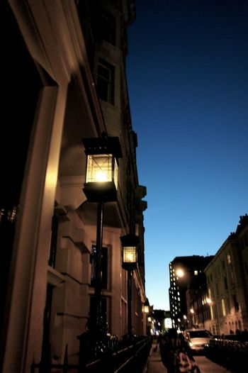 Street Photography London Night Lights Sunset