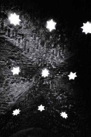 Stars Bricks Shadows & Lights Arab Baths Ceiling Blackandwhitephotography HUAWEI Photo Award: After Dark