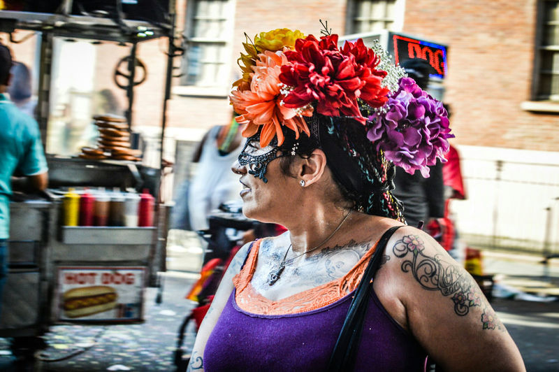 Flower Head NYCPride2016