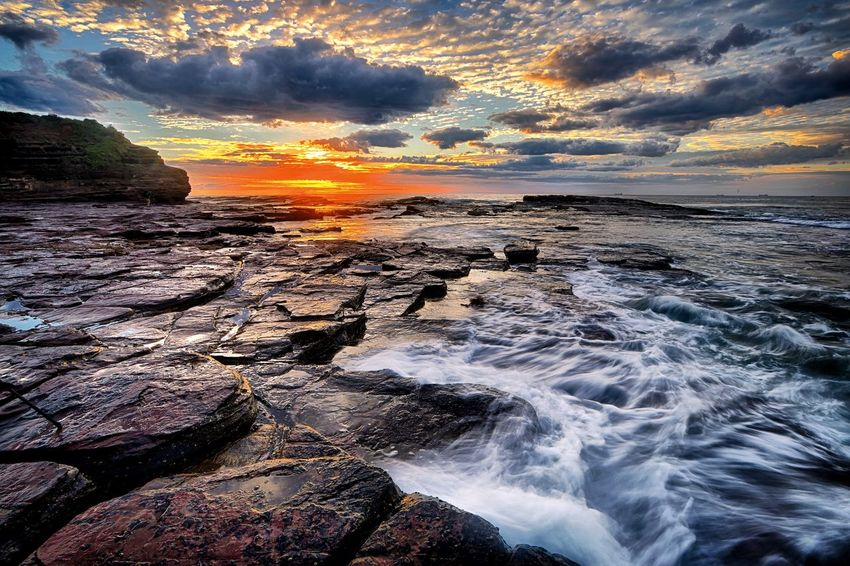 On the eastern coast of Australia has the world's most beautiful sea view