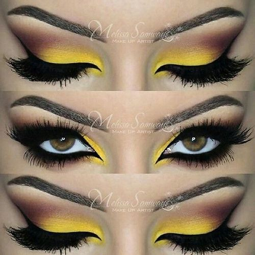 Theeyeshaveit Eyes Eyemakeup Eyeshadow Eyecolor Makeup yellow Yelloweyes Yelloweyeshadow Beautifulmakeup Beauty