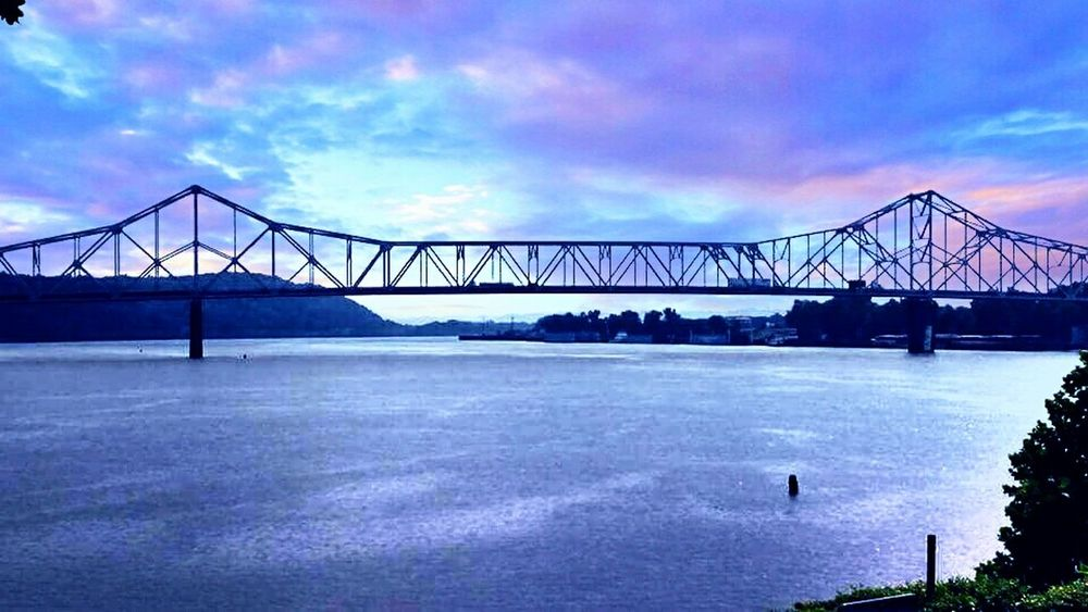 Silver bridge in point pleasant, wv Enjoying Life Mothman