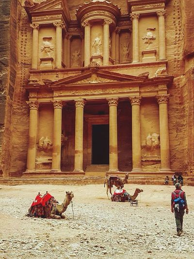 EyeEm Selects History Architecture Travel Destinations Built Structure Travel Jordan Old Ruin Outdoors Architecture