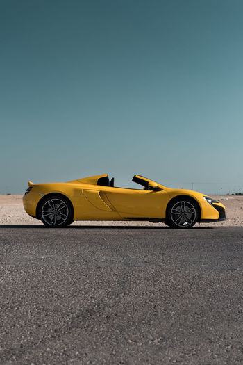 570S Day Land Vehicle McLaren Middle East Mode Of Transport Money Outdoors Rich Supercar Yellow