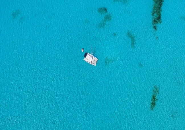 Airial View Bahamas Calm Cat Cay Bahamas Lighthouse Relaxing Tranquility Travel Air Big Blue Blue Bucket List Destination Island Liveaboard No People Ocean Ocean Scene Sail Boat Sailing Scene Sea Sky Translucent Water Go Higher Summer Exploratorium The Great Outdoors - 2018 EyeEm Awards Summer Sports