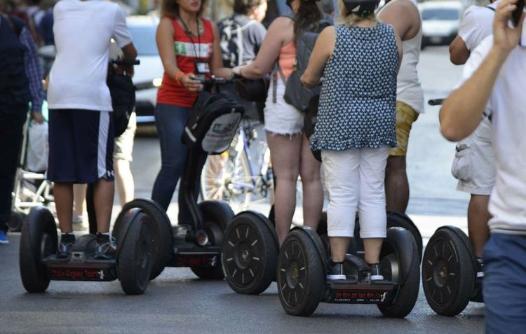 Cycle Segway Ride People Photography Florence Italy Taking Photos Tourist Nikonphotography Taking Photos Traveling City Summer Inspired