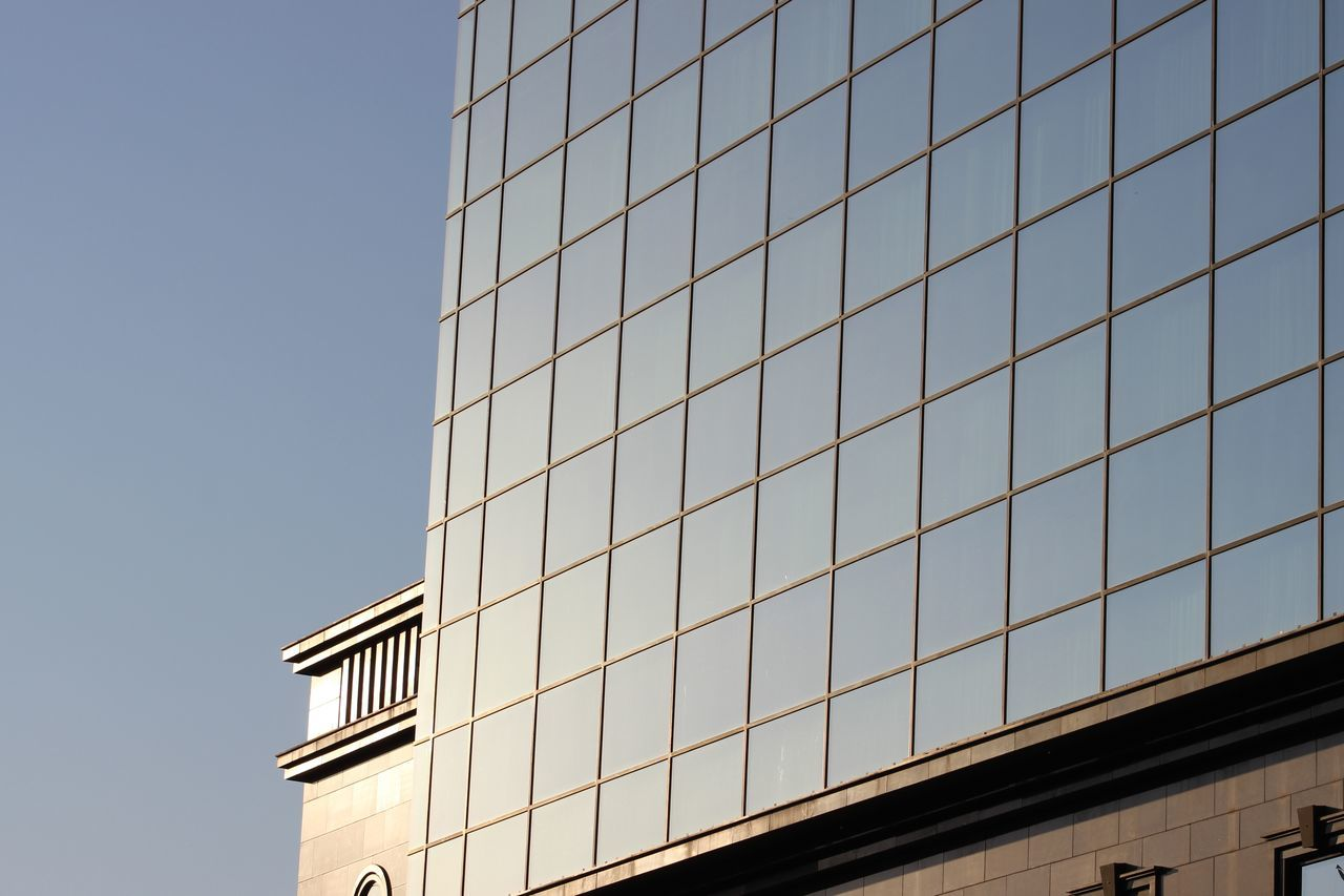 building exterior, architecture, window, built structure, no people, day, modern, outdoors, clear sky, city, close-up, sky