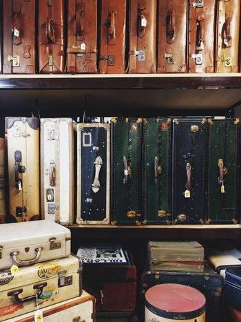 Choice Indoors  Large Group Of Objects Luggage No People Old-fashioned Suitcase Travel Variation Vintage Luggage