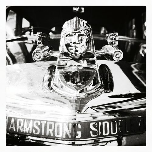 Blackandwhite Photography Black And White Warwickshire Heritage Motor Centre Hot Wheels Super Retro Armstrong Siddeley Bonnet Mascot