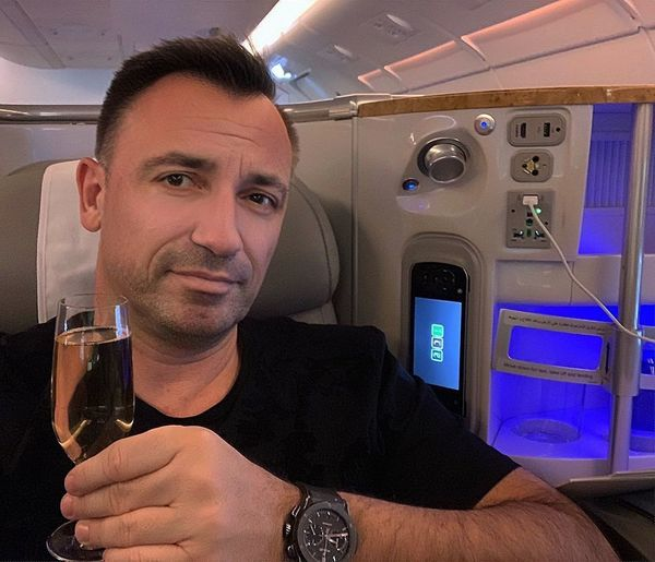 A380 Experience One Person Adult Portrait Transportation Men Looking At Camera Males  Mode Of Transportation Business Finance And Industry Mature Adult Mid Adult Indoors  Aerospace Industry